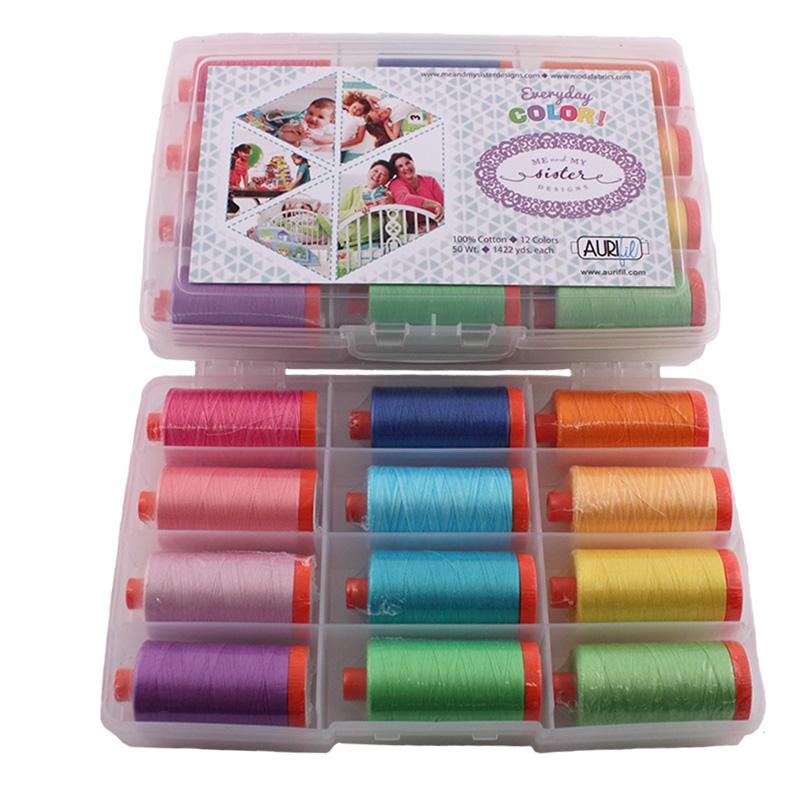 Everyday Color Collection  Aurifil 50wt