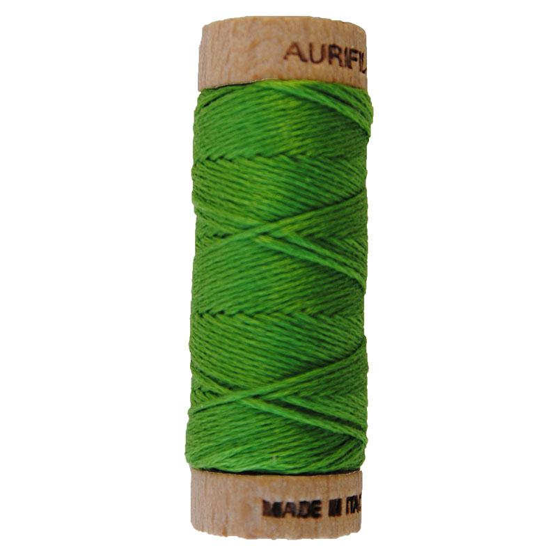 Aurifloss 6 Strand Cotton Floss Grass Green 16 Meters
