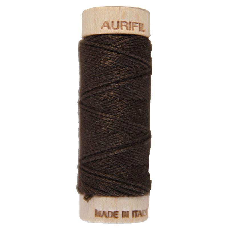 Aurifloss 6 Strand Cotton Floss Very Dark Bark 16 Meters