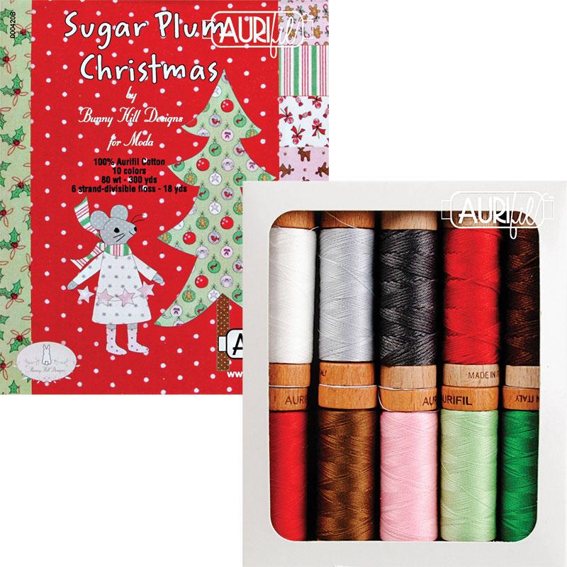 Sugar Plum Christmas Thread Collection