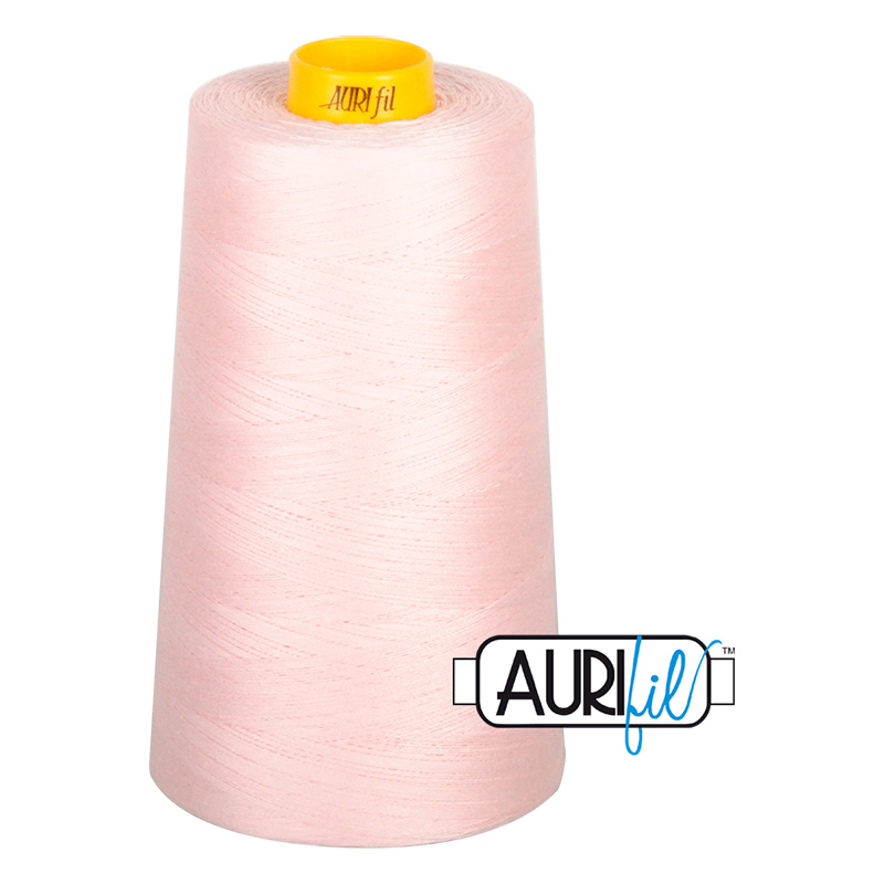 Aurifil  Sewing & Longarm 40wt 3ply Pale Pink 2410 Cone