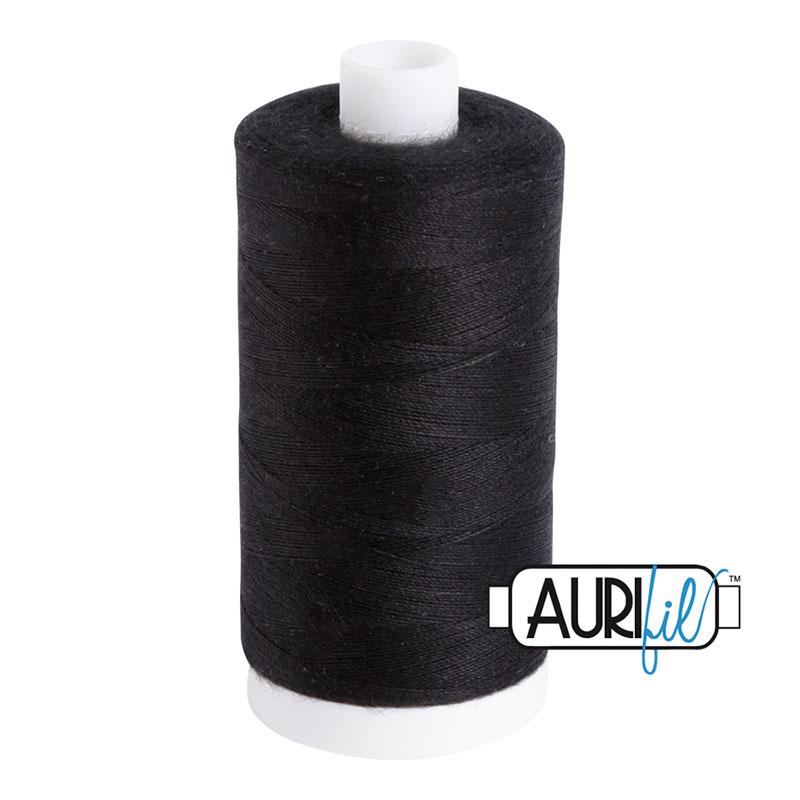 Aurifil Bobbin Thread Black 1531 yds