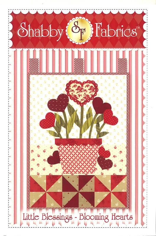 Little Blessings Blooming Hearts Pattern