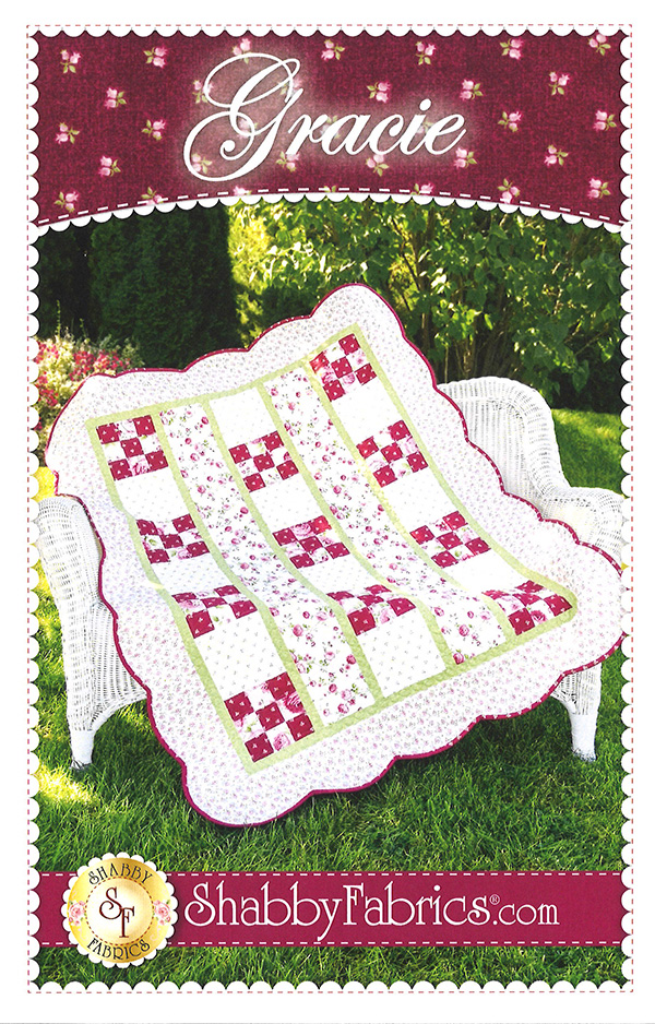 Gracie Pattern designed by Shabby Fabrics, 44 x 54
