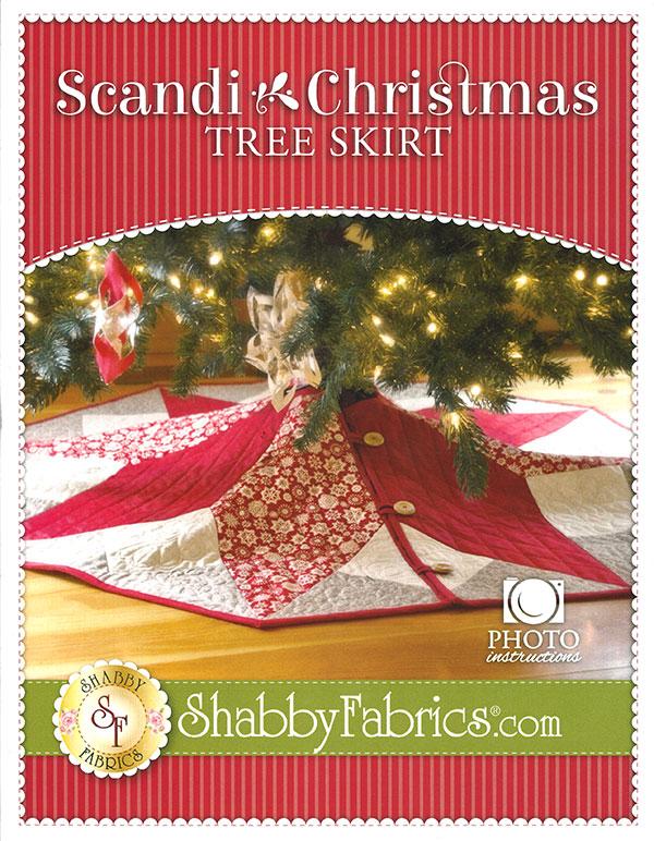 SF 48691 Scandi Christmas Tree Skirt