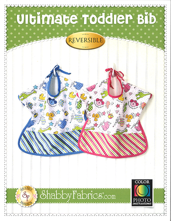 Shabby Fabrics Ultimate Toddler Bib