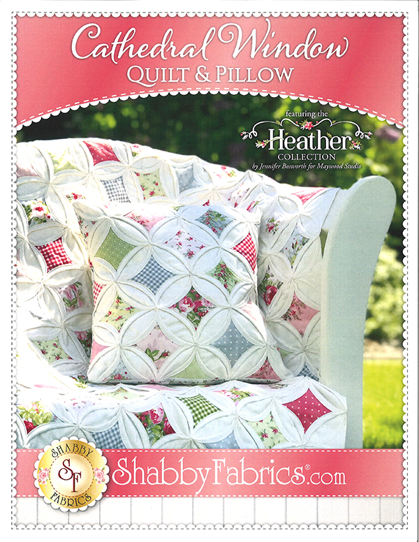 Cathedral Window Quilt & Pillow