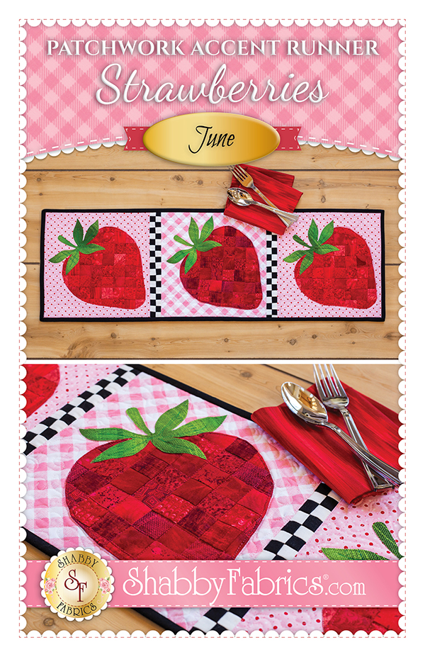 Patchwork Accent Runner/Jun/Strawberry Kit