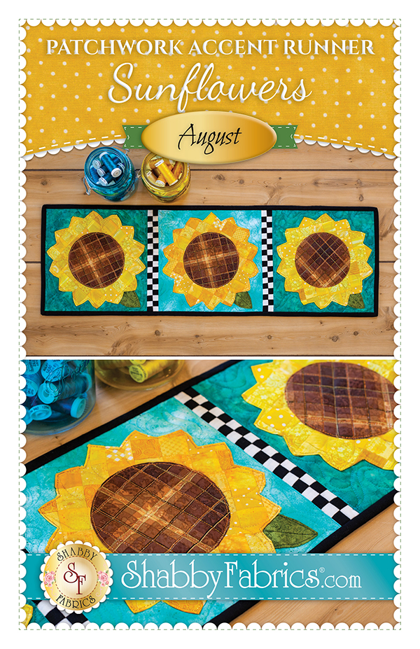 Patchwork Accent Runner/Aug/Snowflake Kit