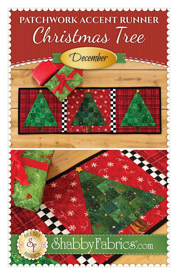 Patchwk Accent Runner/Dec/Tree