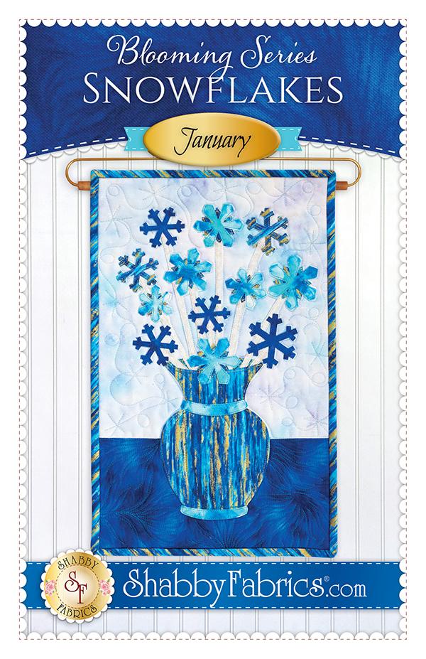 Blooming Series/Jan/Snowflakes