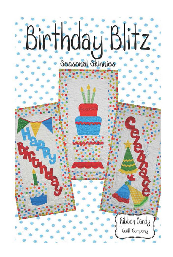 Birthday Blitz Seasonal Skinnie Pattern