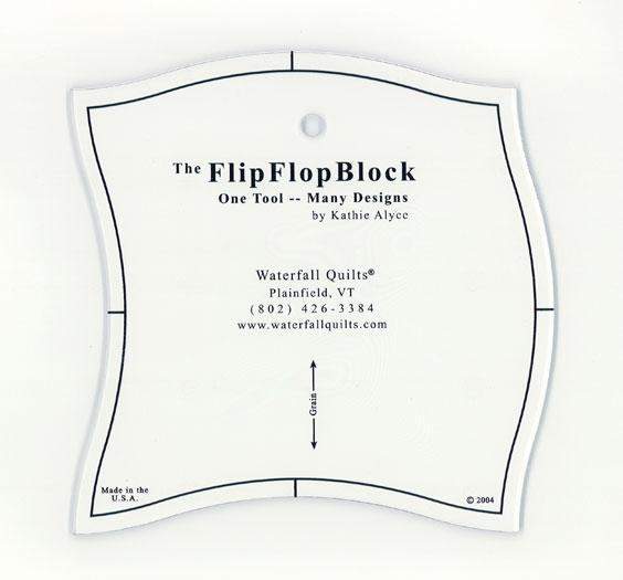 Flip Flop Acrylic Template