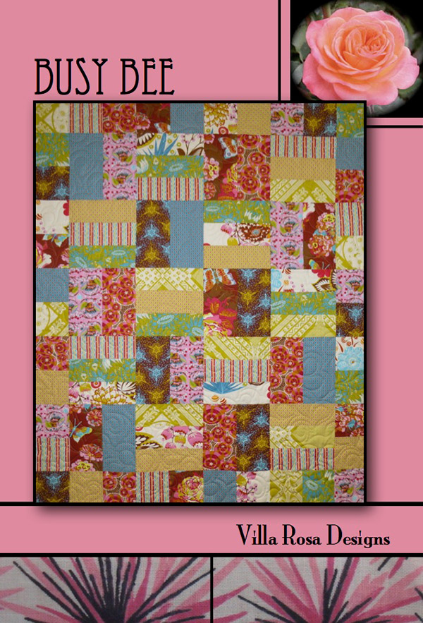 Busy Bee - Villa Rosa - 45x54 Fat Quarters