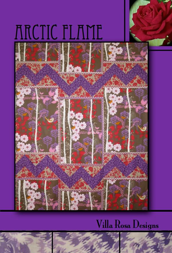 Artic Flame - Villa Rosa -  60 x 75 - Theme/Yardage