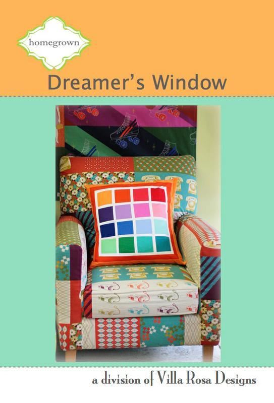 Dreamer's Window/Pillow - Villa Rosa - Homegrown