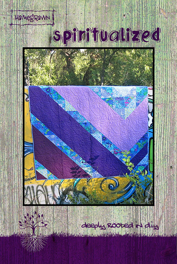 Spiritualized Quilt Pattern by Jessica Darling | Villa Rosa Designs