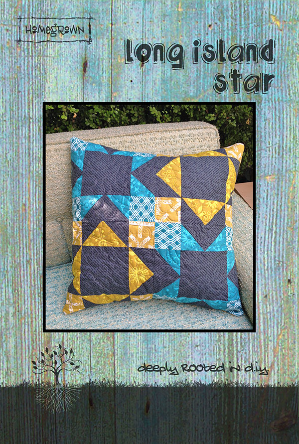 Long Island Star Pillow Pattern by Jessica Darling   Villa Rosa Designs