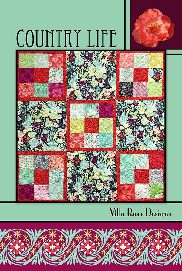 Country Life - Villa Rosa - 5 Squares - 48 x 48