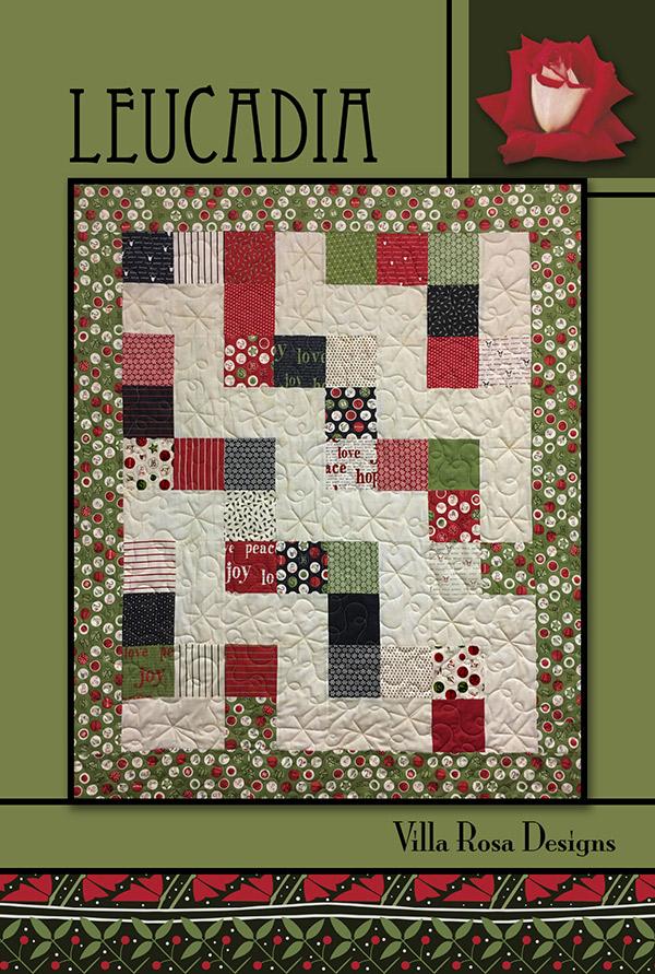 Villa Rosa Pattern Card Leucadia