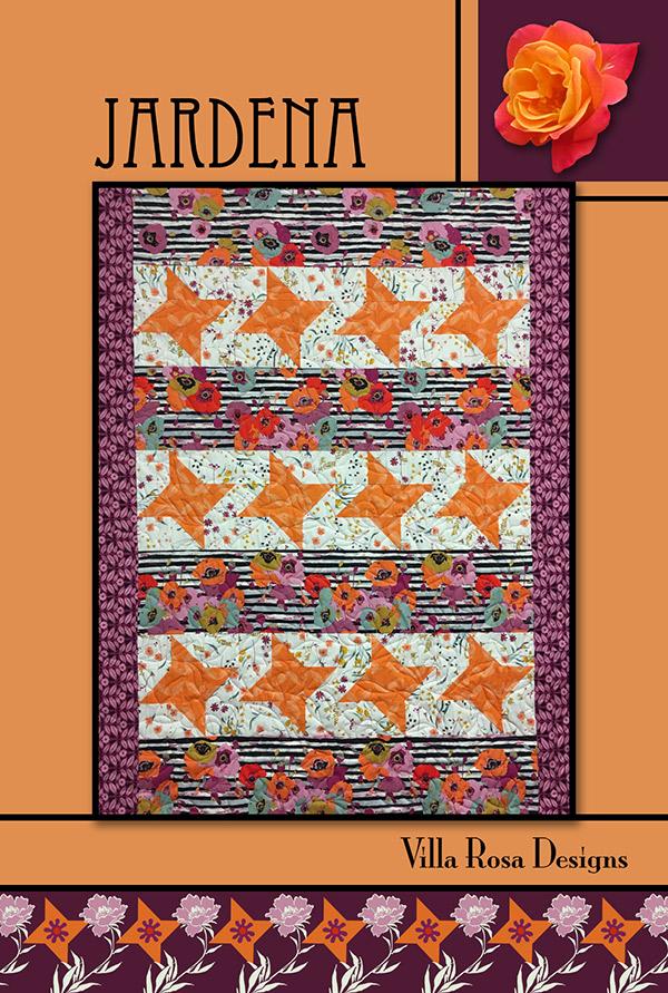 Villa Rosa Pattern Card Jardena