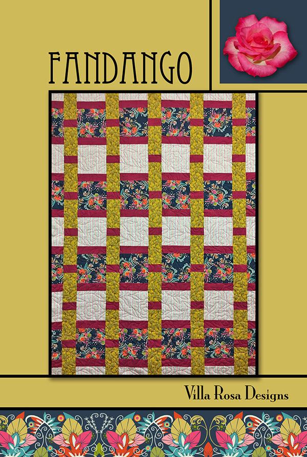 Villa Rosa Pattern Card Fandango