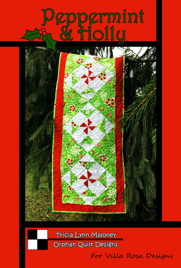 Peppermint And Holly Pattern