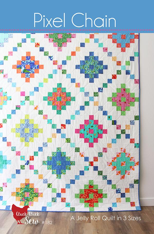 Pixel Chain Quilt Pattern