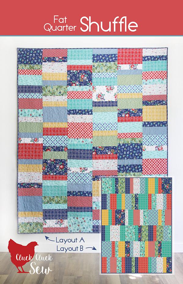 Fat Quarter Shuffle Quilt Pattern