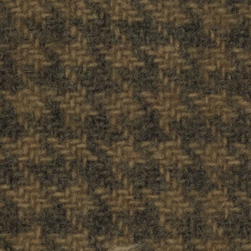 Wool Fat Quarter - Sand Houndstooth