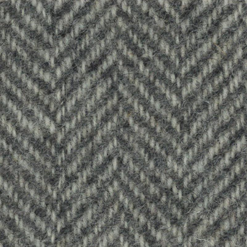 Wool F.Qtr Ecru Herringbone