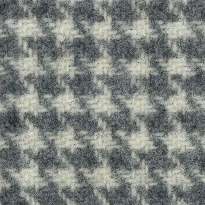 Wool F.Qtr Ecru Houndstooth
