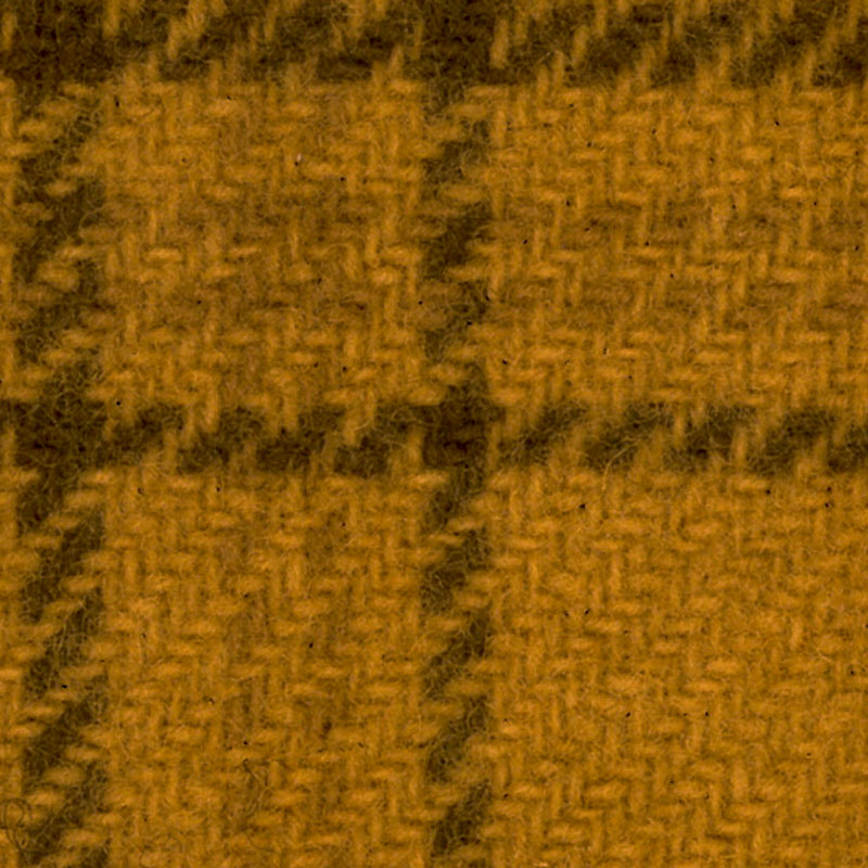 Wool F.Qtr Goldstar Glens Plaid