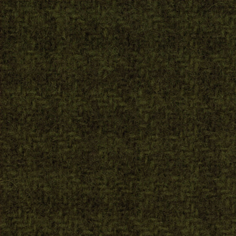 Wool F.Qtr Moss Houndstooth