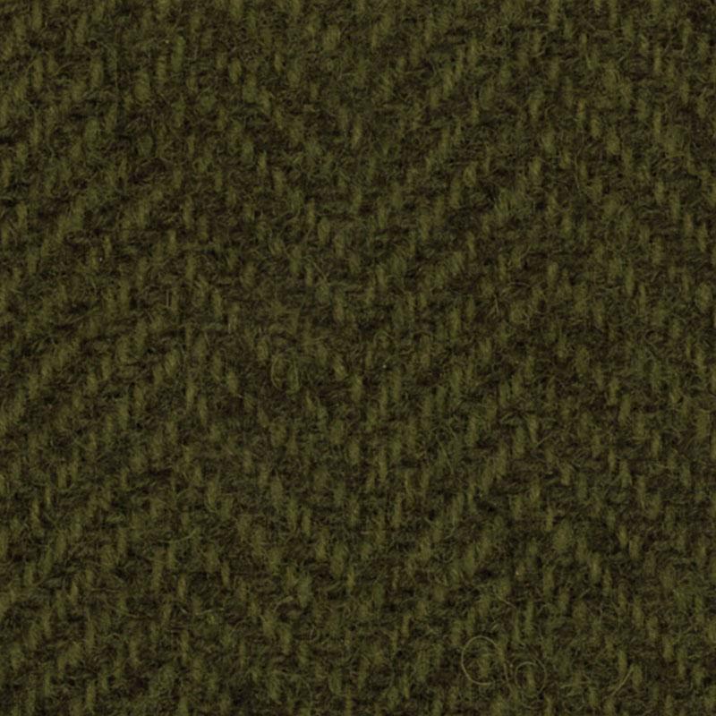 Wool F.Qtr Sage Herringbone