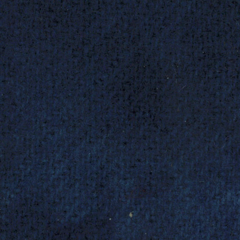 Wool F.Qtr Navy Solid