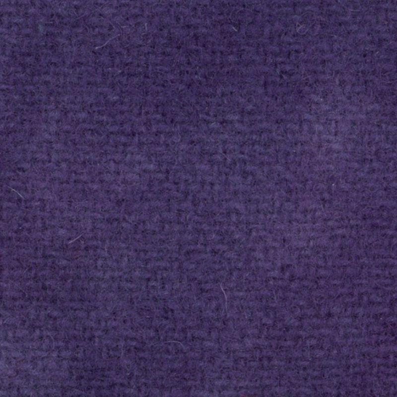 Wool F.Qtr Wood Violet Solid