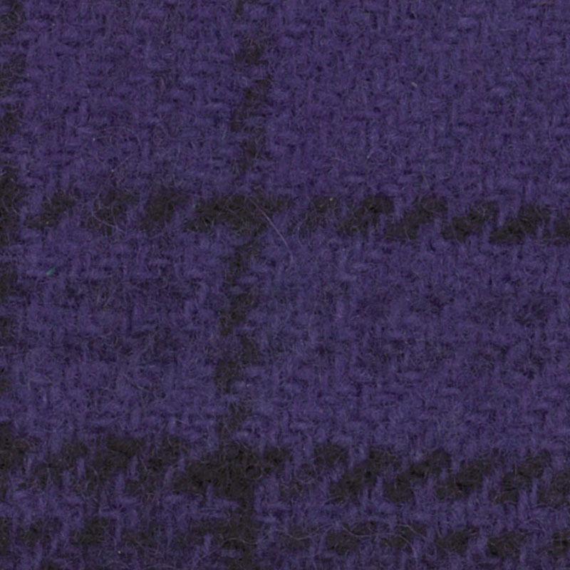 Wool F.Qtr Violet Glens Plaid