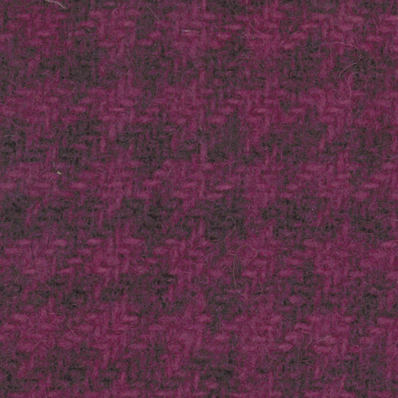 Wool Fat Quarter - Houndstooth - Grape
