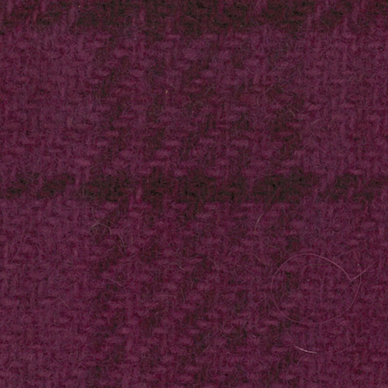 Wool Fat Quarter - Glens Plaid - Grape