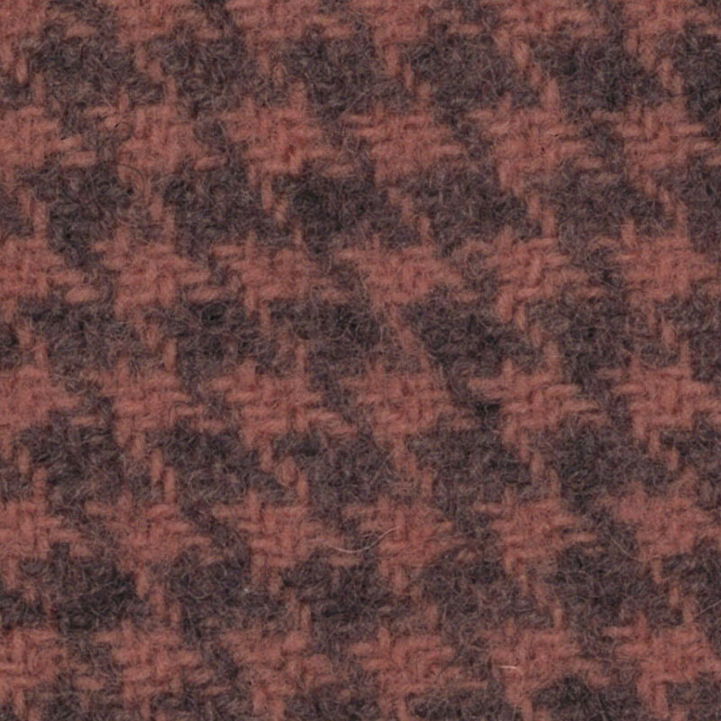 Wool F.Qtr Clover Houndstooth