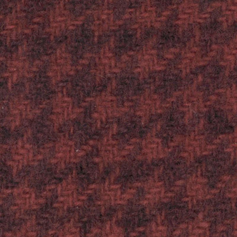 Wool Fat Quarter - Houndstooth - Petunia