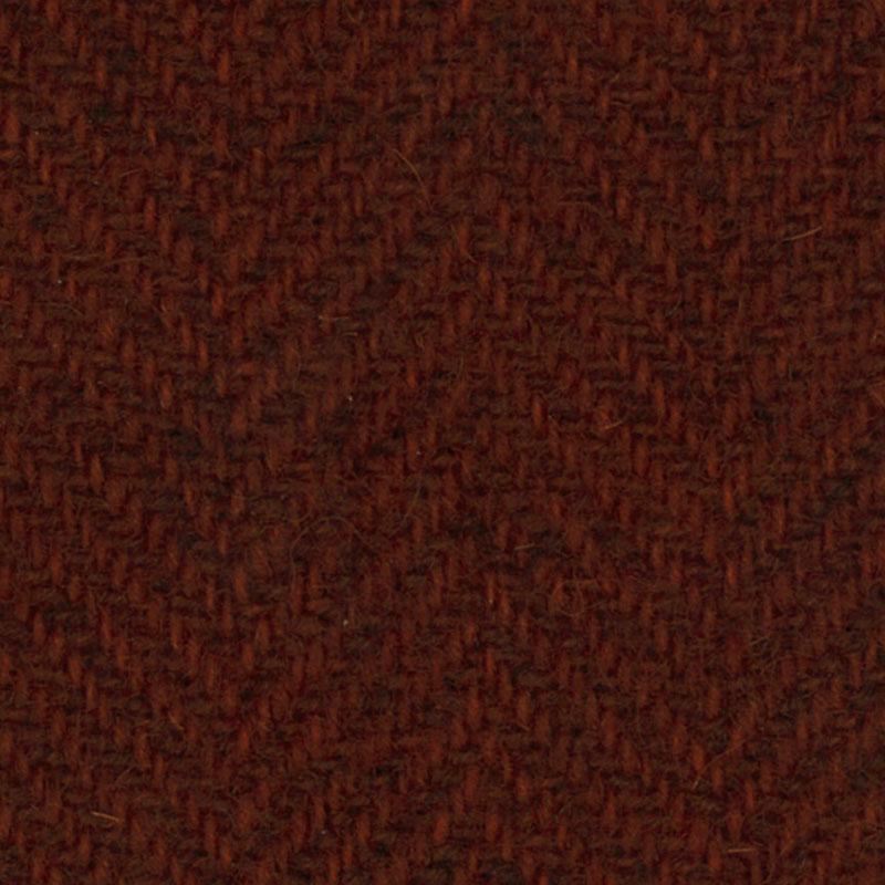 Wool Fat Quarter - Herringbone - Rust