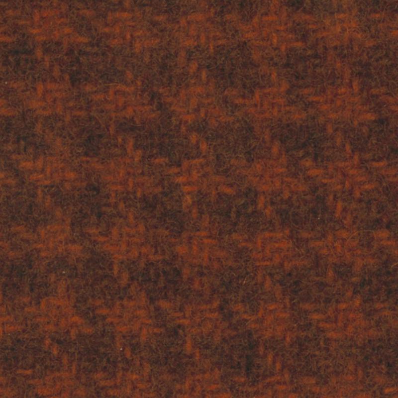 Wool Fat Quarter - Houndstooth - Rust