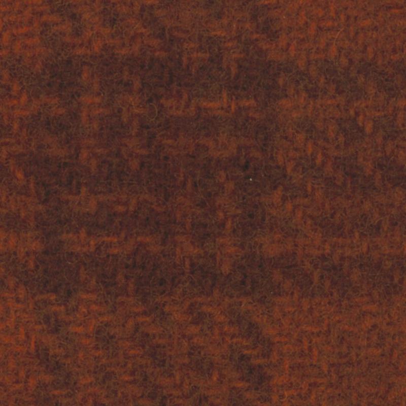 Wool Fat Quarter - Glens Plaid - Rust