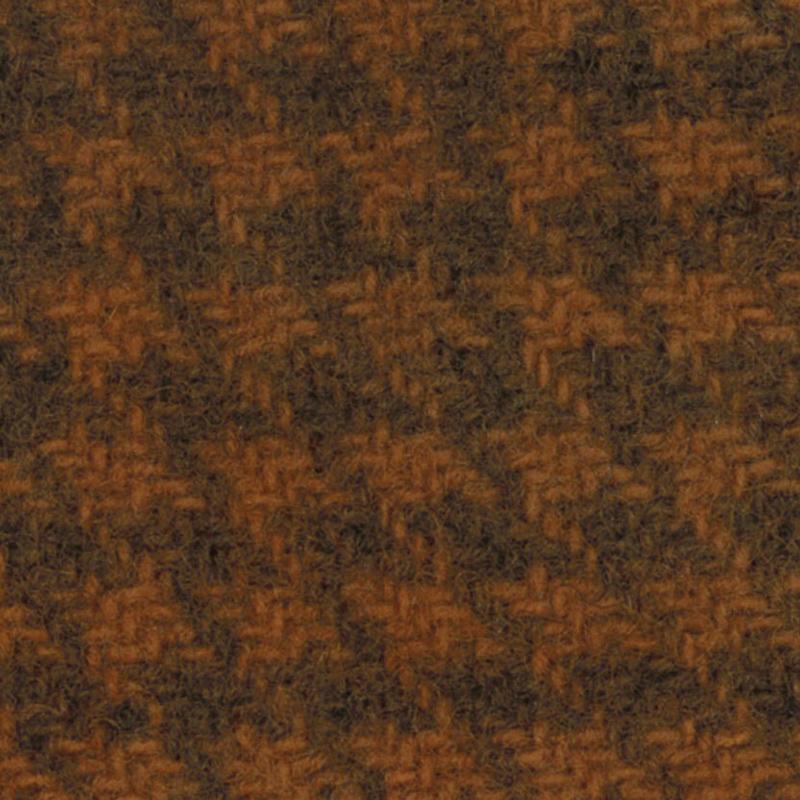 Wool F.Qtr Pumpkin Houndstooth