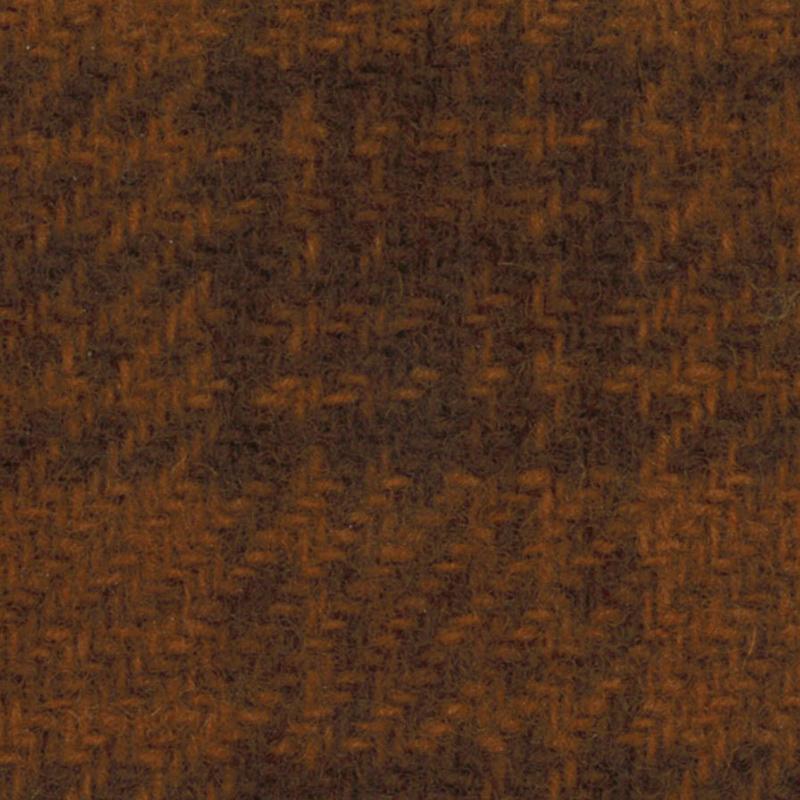Wool Fat Quarter - Pumpkin Glens Plaid