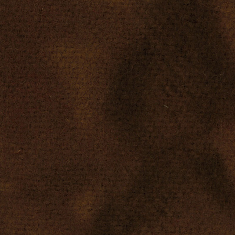 Wool Fat Quarter - Chocolate Solid