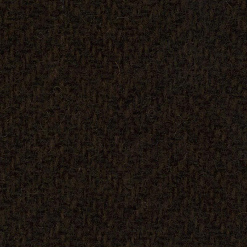 Wool F.Qtr Chocolat Herringbone