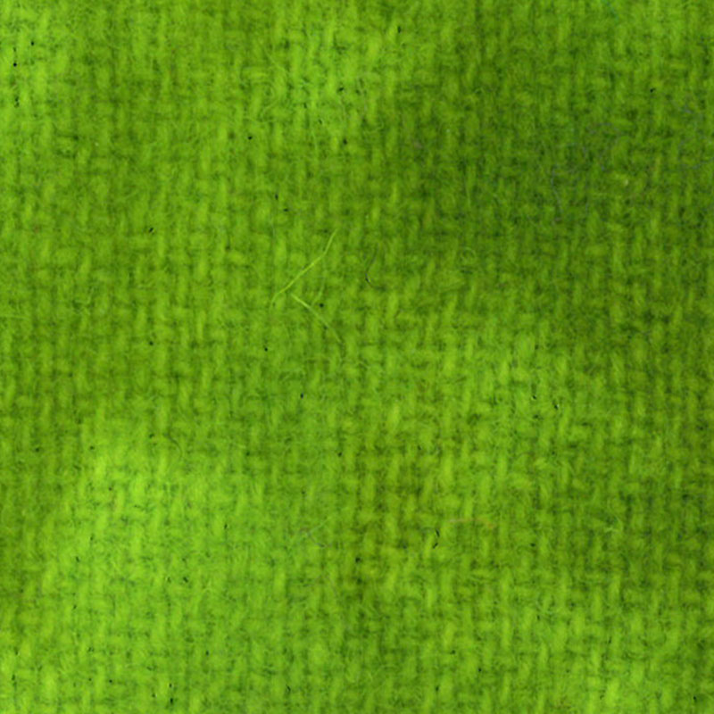 Wool F.Qtr Safety Green Solid